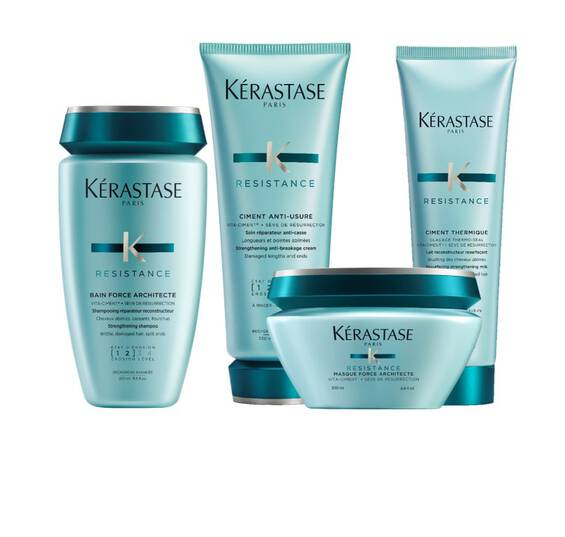 Résistance Complete Strengthening Routine Haircare Bundle for Damaged Hair