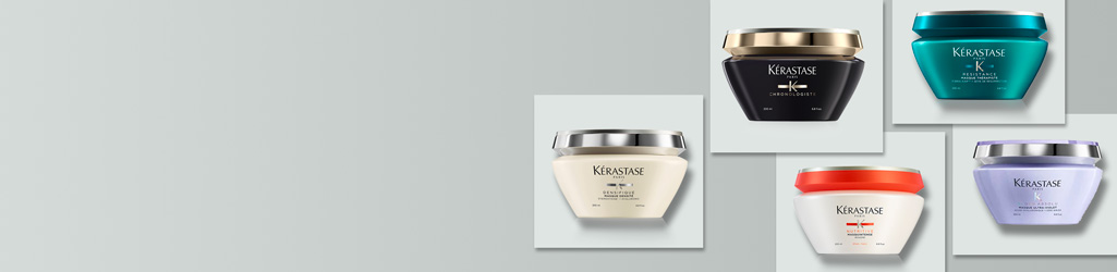 Discover Kérastase hair masks, specially formulated for different hair types to nourish, moisturise and restore the hair's natural radiance.