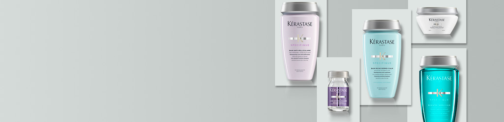 The Spécifique range from Kérastase was created to address scalp-related issues such as scalp sensitivity, itchiness, dandruff, hair loss and oily roots.