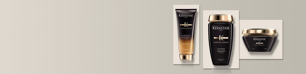 For hair that appears shinier, bouncier and softer, discover Kérastase Chronologiste.
