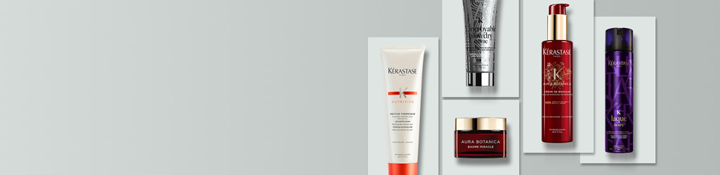 For texture, volume and personality, discover the Kérastase hair styling range.